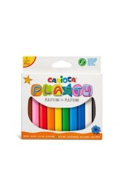 CARIOCA Plasty Kurumayan Oyun Hamuru 200 Gr. 10 Renk Kom1 | Trendyol