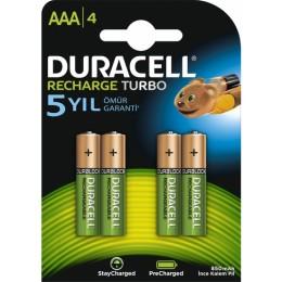 Duracell Şarj Edilebilir AAA İnce Kalem Pil 850 Mah 4'Lü Paket