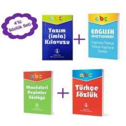 Okul Sözlük Seti, Türkçe Sözlük, Yazım Kuralları, Atasözleri ve Deyimler, İngilizce Türkçe Sözlük Fiyatı ve Özellikleri - GittiGidiyor